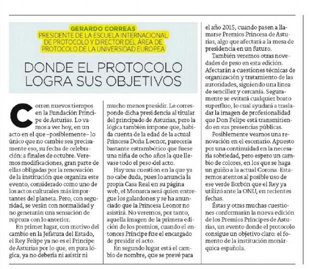 Gerardo Correas El Diario Montañés 24102014